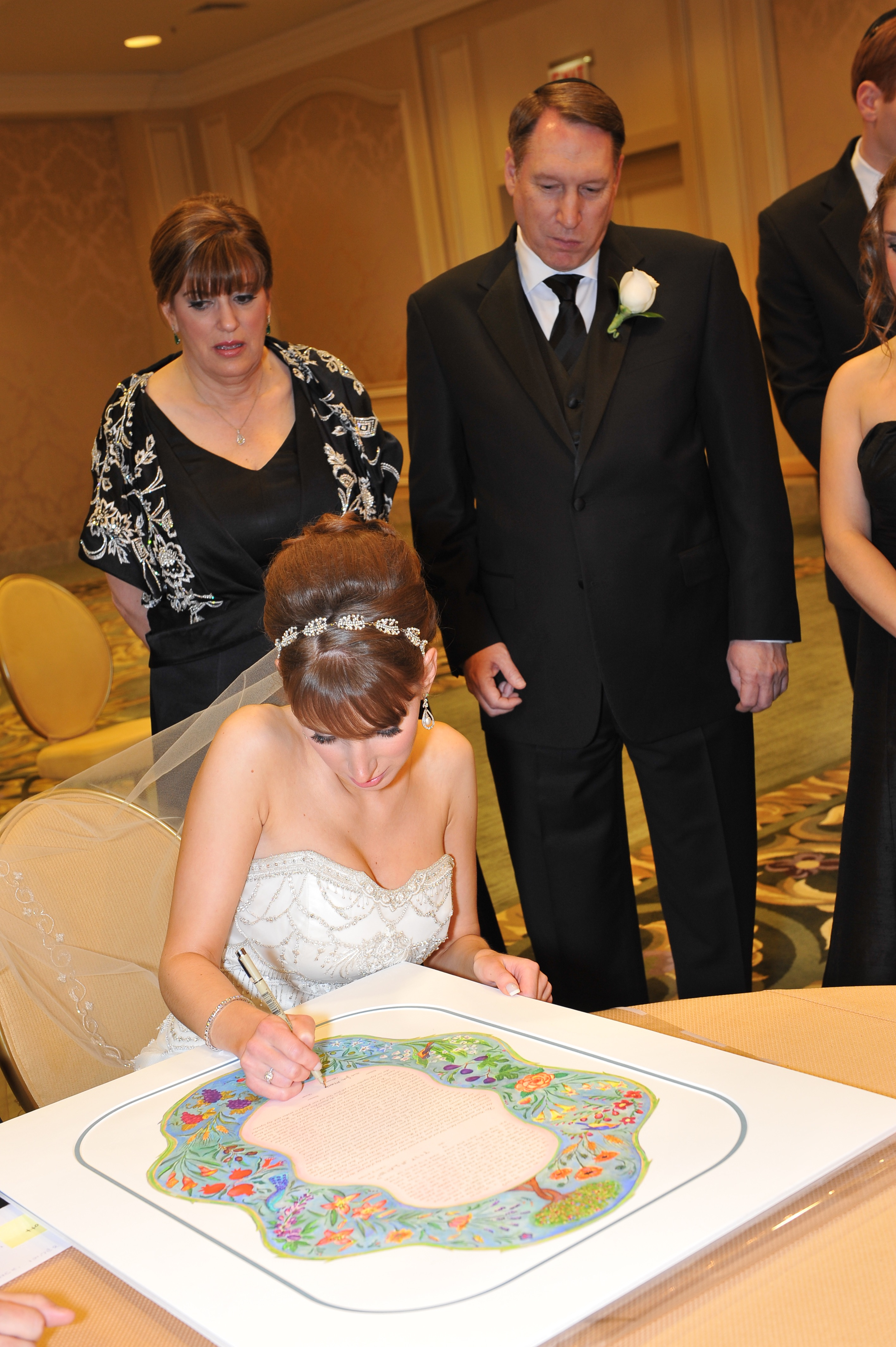 7-Species-Ketubah-Signing