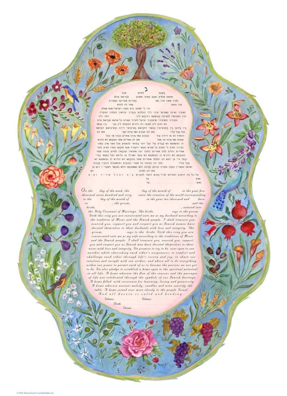 7-Species-Ketubah-Print