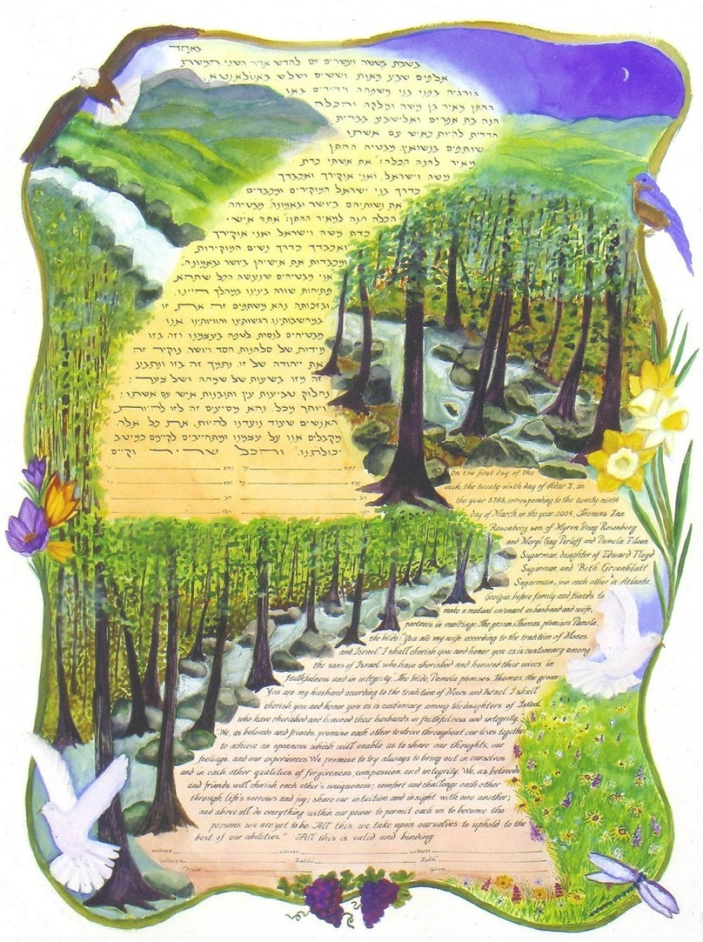 Blueridge-Mountain-Ketubah