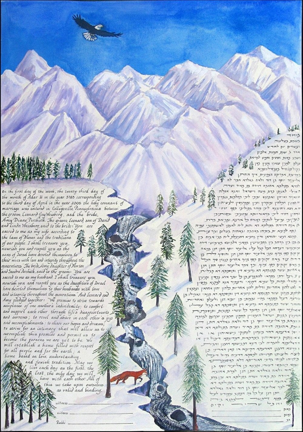 Winter-Rockies-Ketubah
