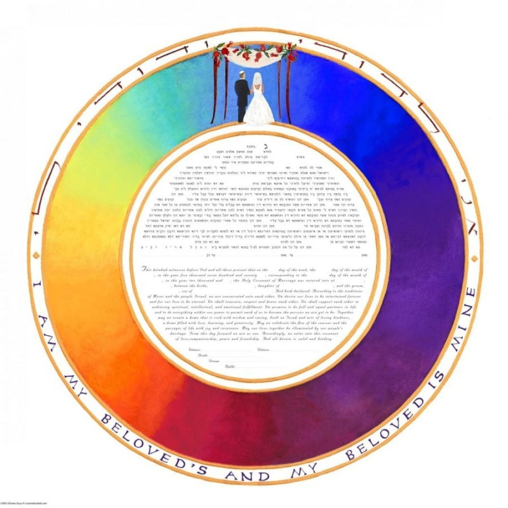 Rainbow-Circle-Ketubah-Print-Bride-Groom