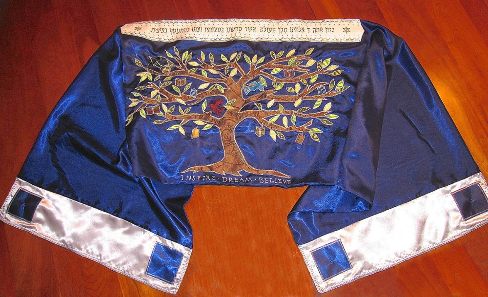 Tree of Life custom Tallit
