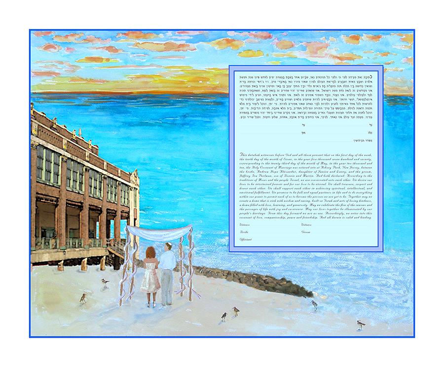 Beach-Ketubah-Print-Building