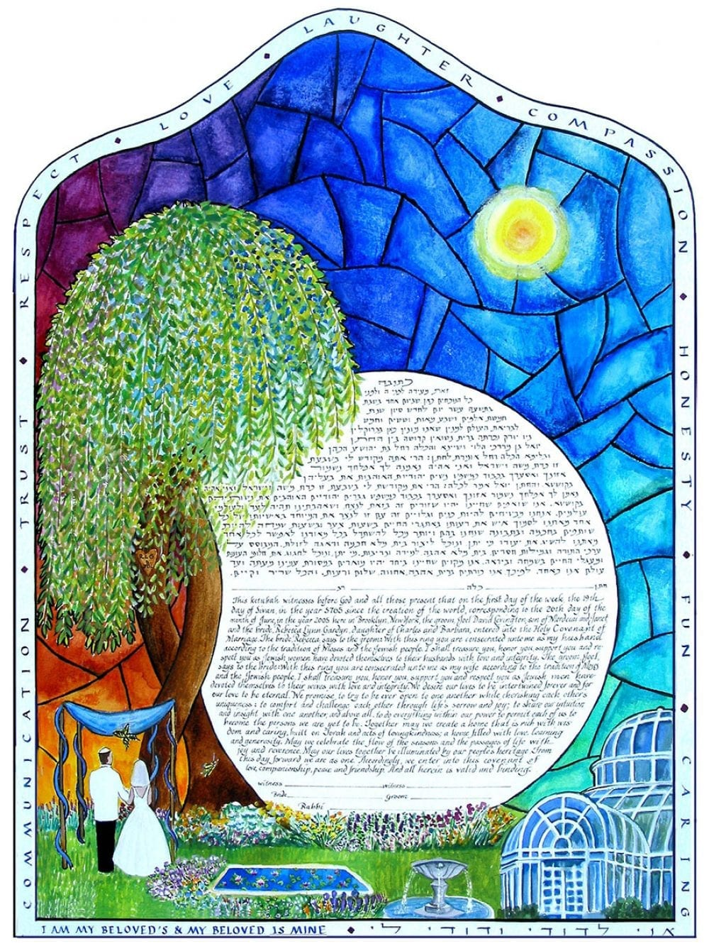 brooklyn-botanical-garden-ketubah