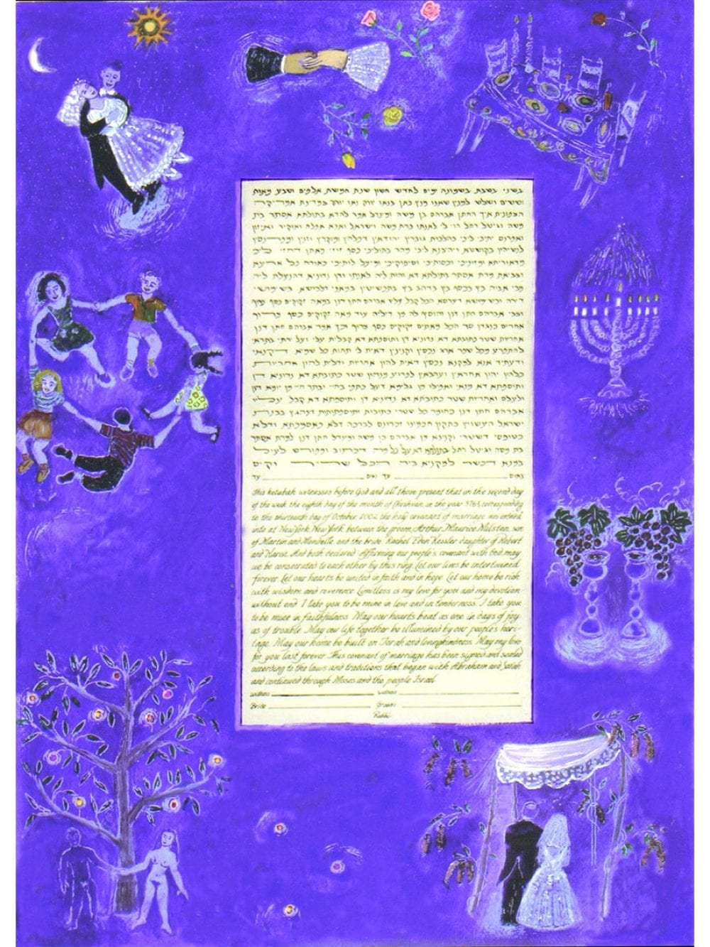 chagall-blue-adam-ketubah