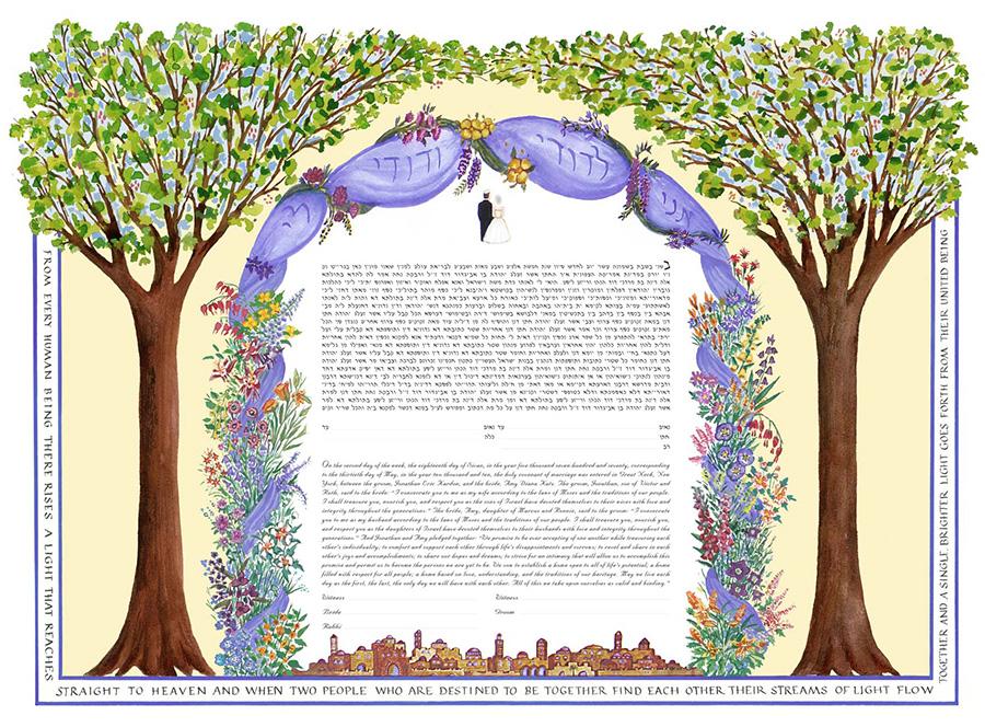 chuppah-jerusalem-Ketubah-Print