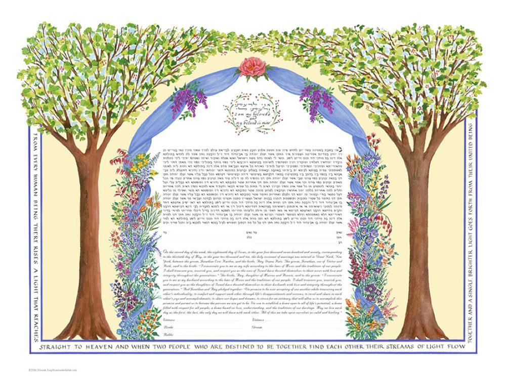 Chuppah-2-Brides-Ketubah-Print