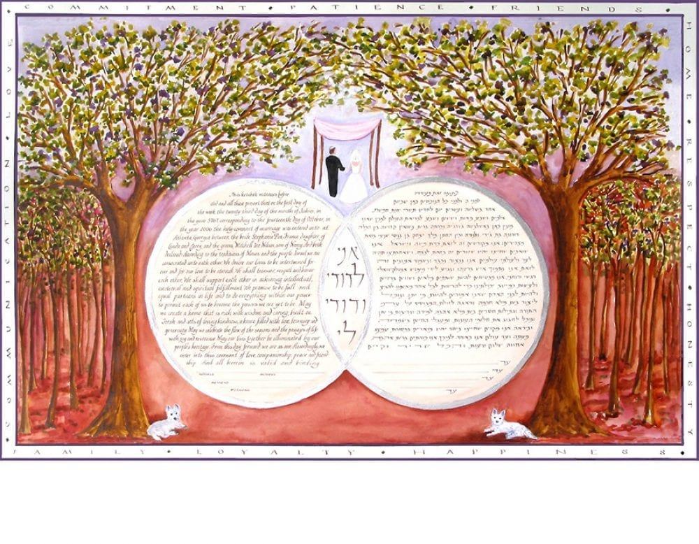 double-ring-ketubah-scotties