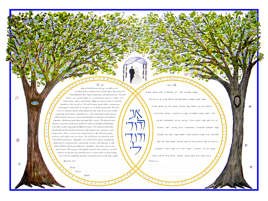Double-Ring-Ketubah-Print-White