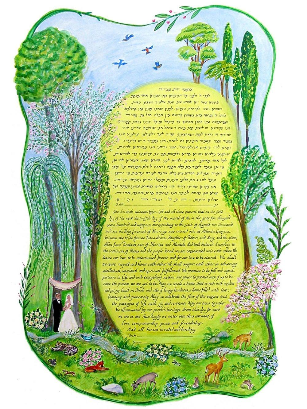 garden-of-eden-ketubah