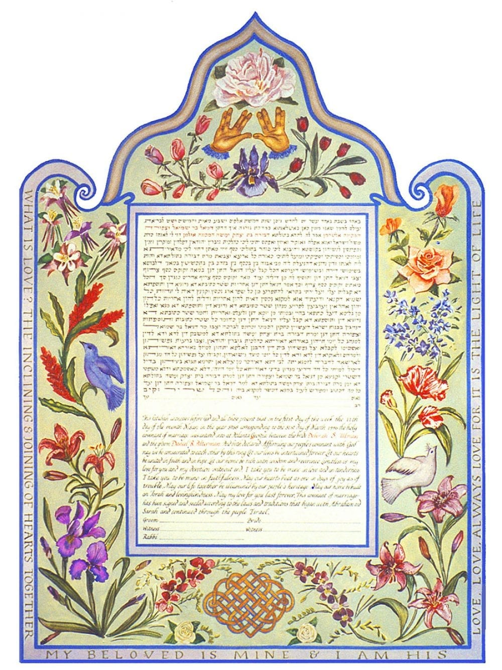 priestly-benediction-ketubah