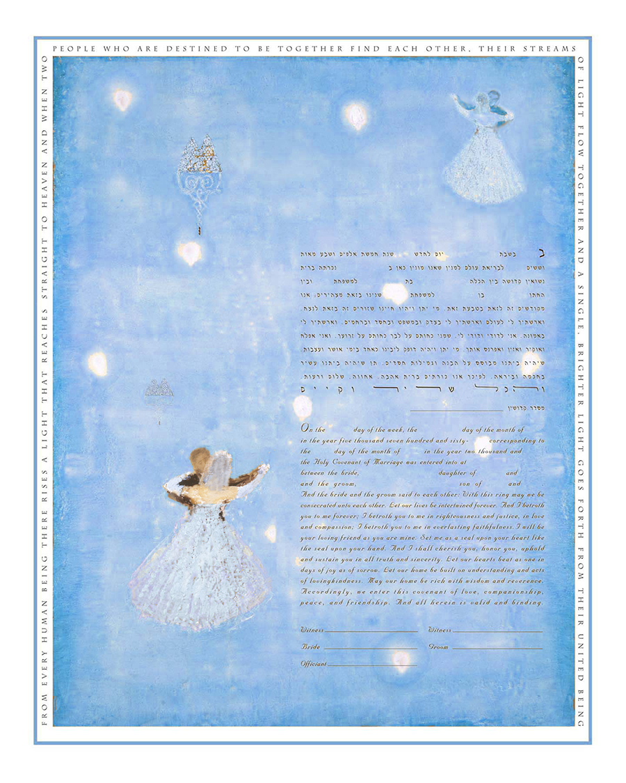 wedding-dancers-blue-ketubah-print