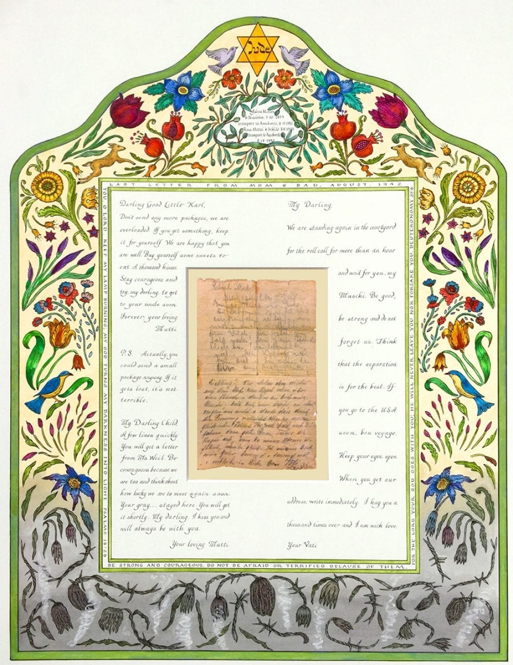 Holocaust-Letter