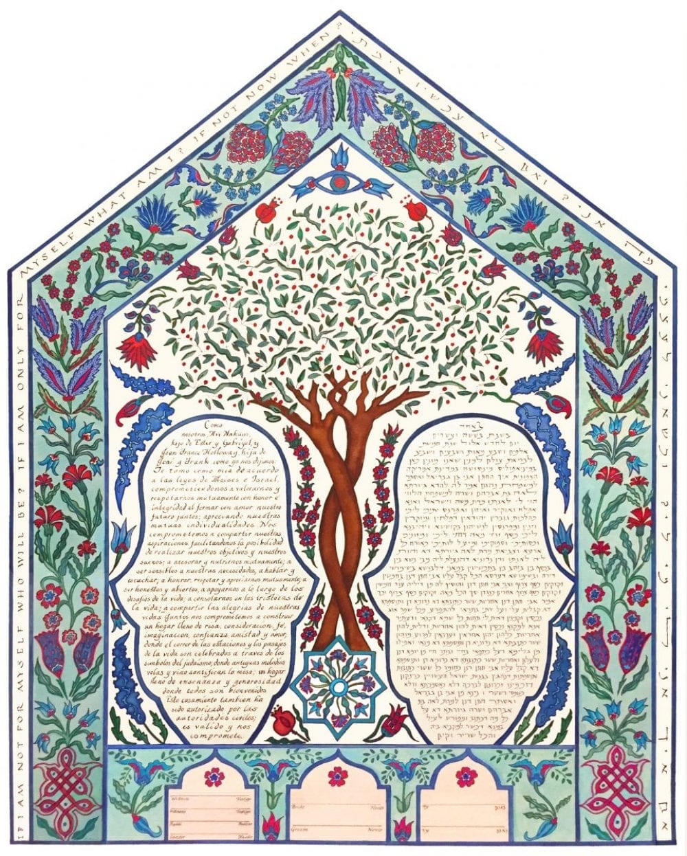 Turkish-Tile-Ketubah-Spanish