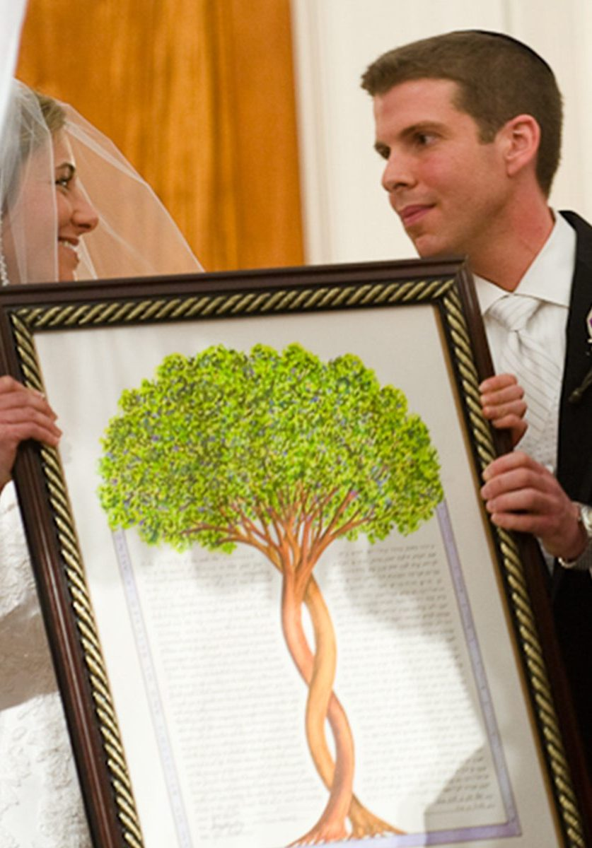 ketubah-display